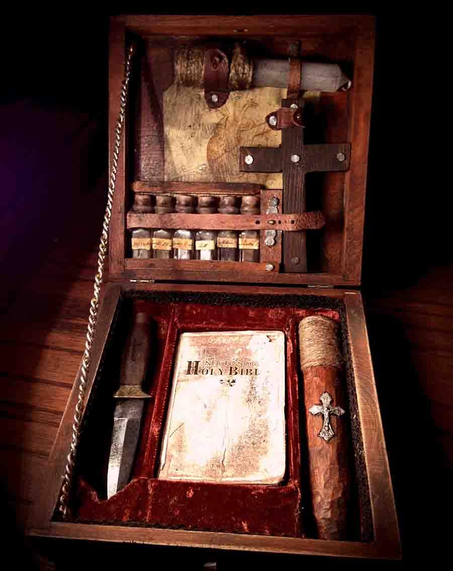 Vampire hunter essential kit.