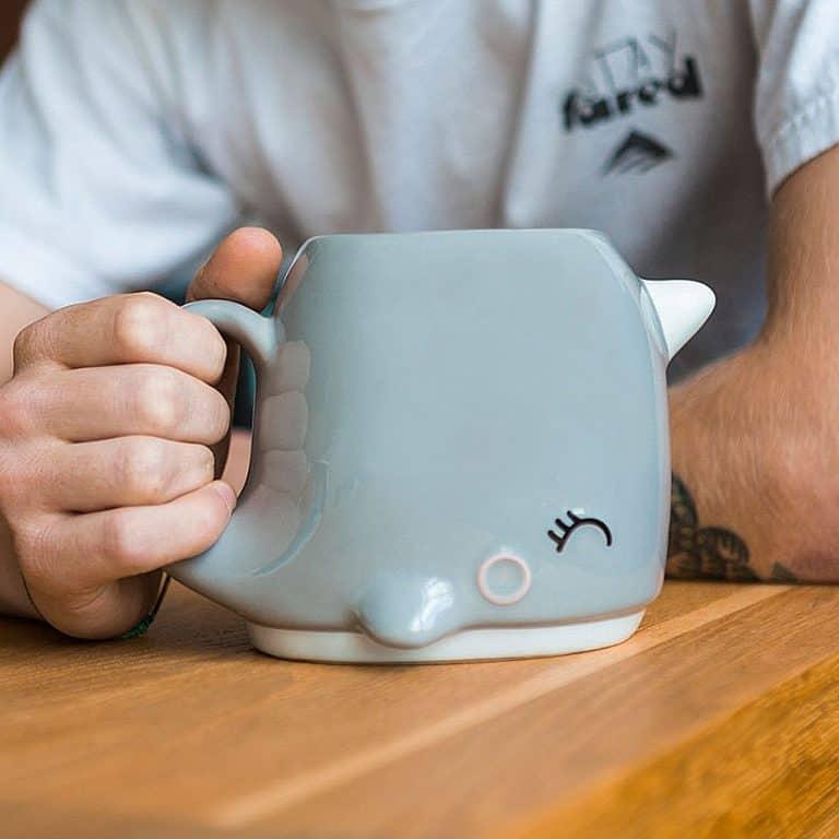 Smoko Narwhal Mug Drinks