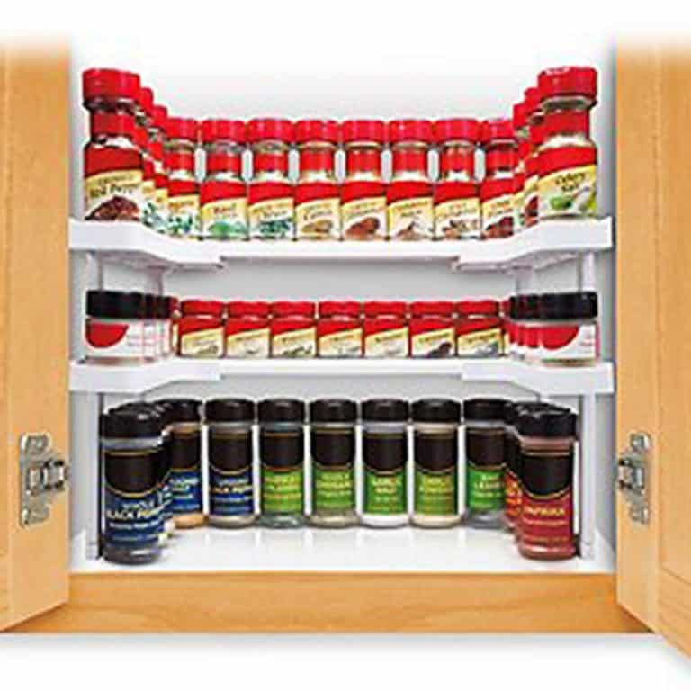 Spicy Shelf Patented Spice Rack and Stackable Organizer Organized