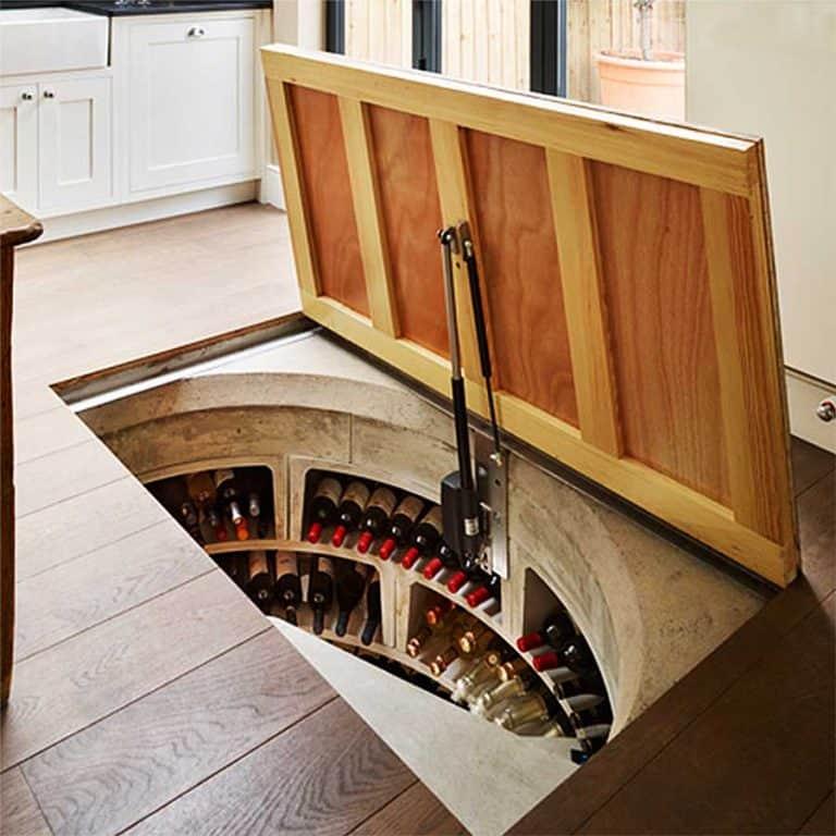 Spiral Cellars Wooden Door