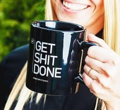 Have a coffee and get it done!