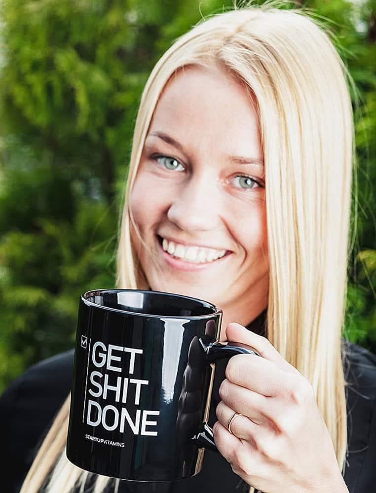 Startup Vitamins Get Shit Done Coffee Mug Drinkware
