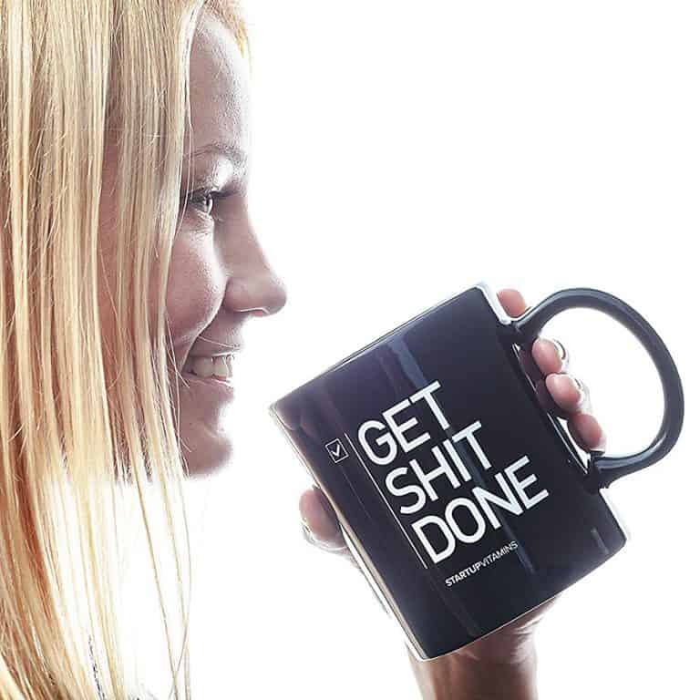 Startup Vitamins Get Shit Done Coffee Mug Mugs