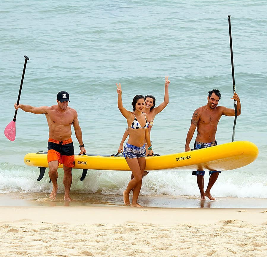 Supflex 18ft. BigSup Giant Inflatable Stand Up Paddle Board Beach Item