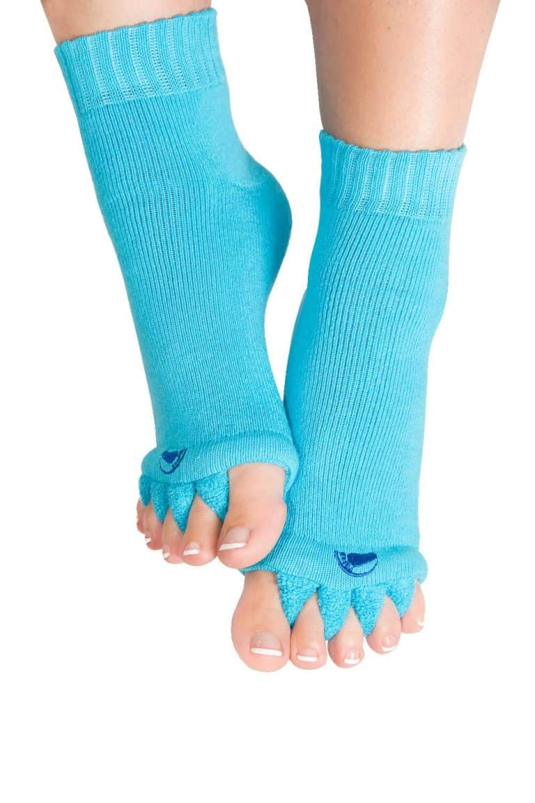 The Original Foot Alignment Toe Separator Socks Cool Innovative Fashion