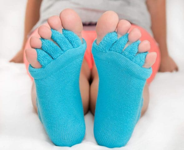 The Original Foot Alignment Toe Separator Socks GIft for Women