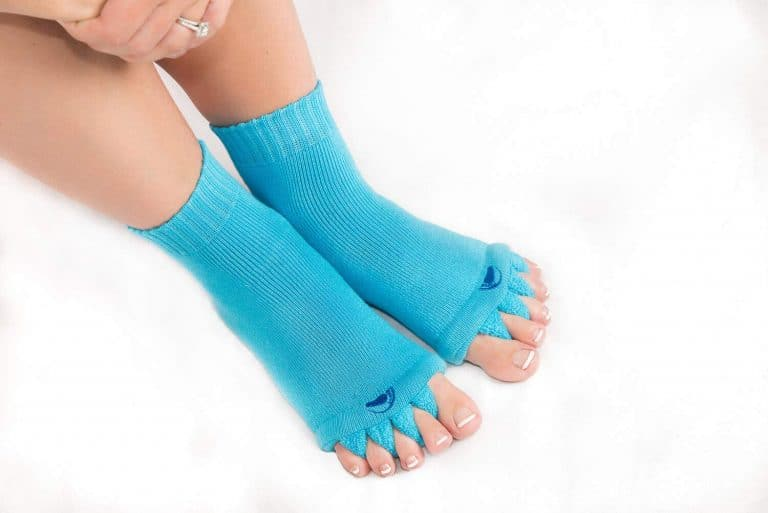 The Original Foot Alignment Toe Separator Socks Weird Invention