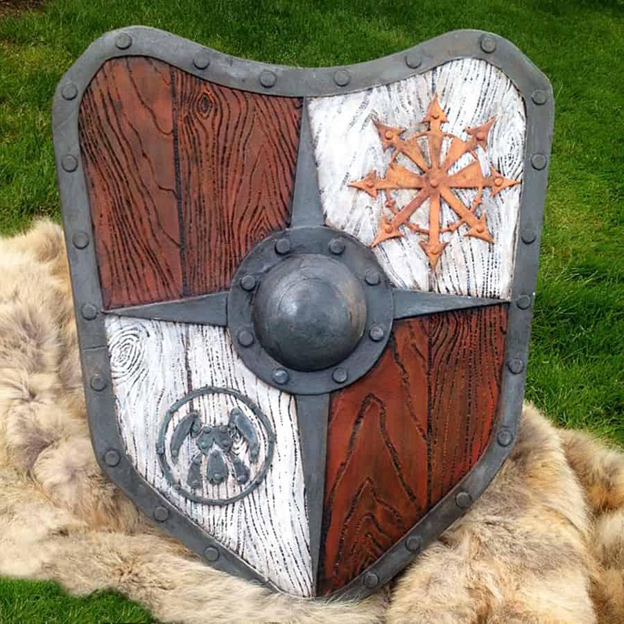 The Shield-Shop Plastidip and All-foam Shields Dragoon Design