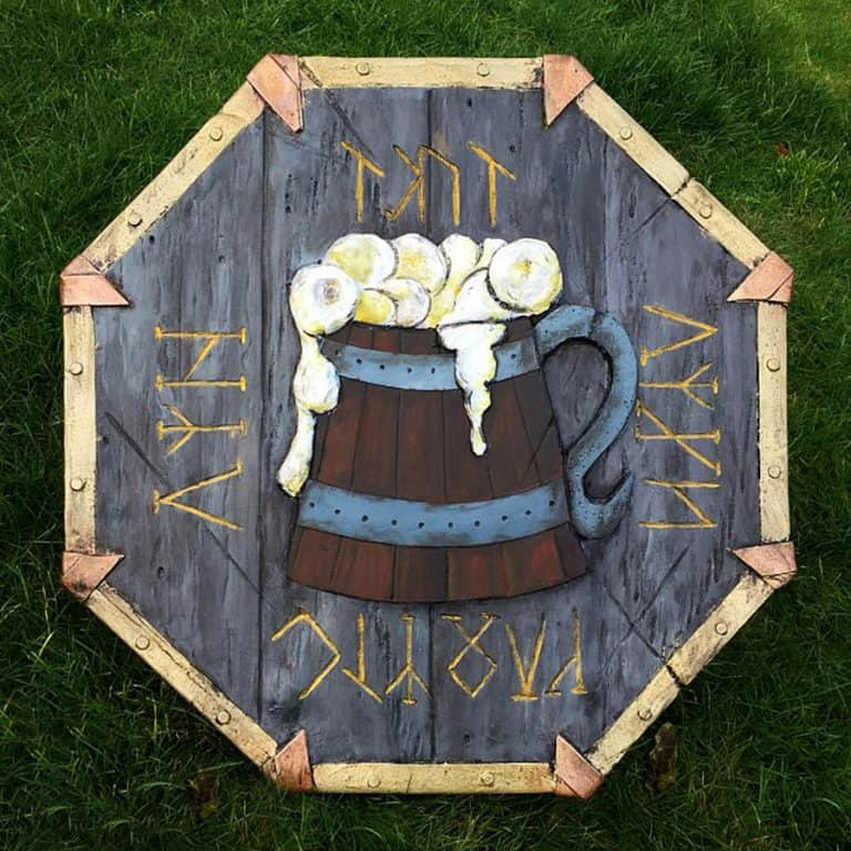 The Shield-Shop Plastidip and All-foam Shields Dwarven Drunken Master Shields