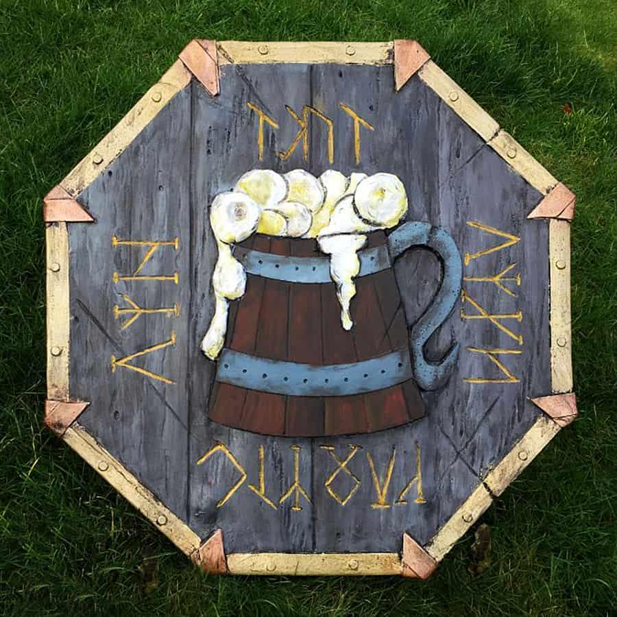 The Shield-Shop Plastidip and All-foam Shields Dwarven Drunken Master Shields