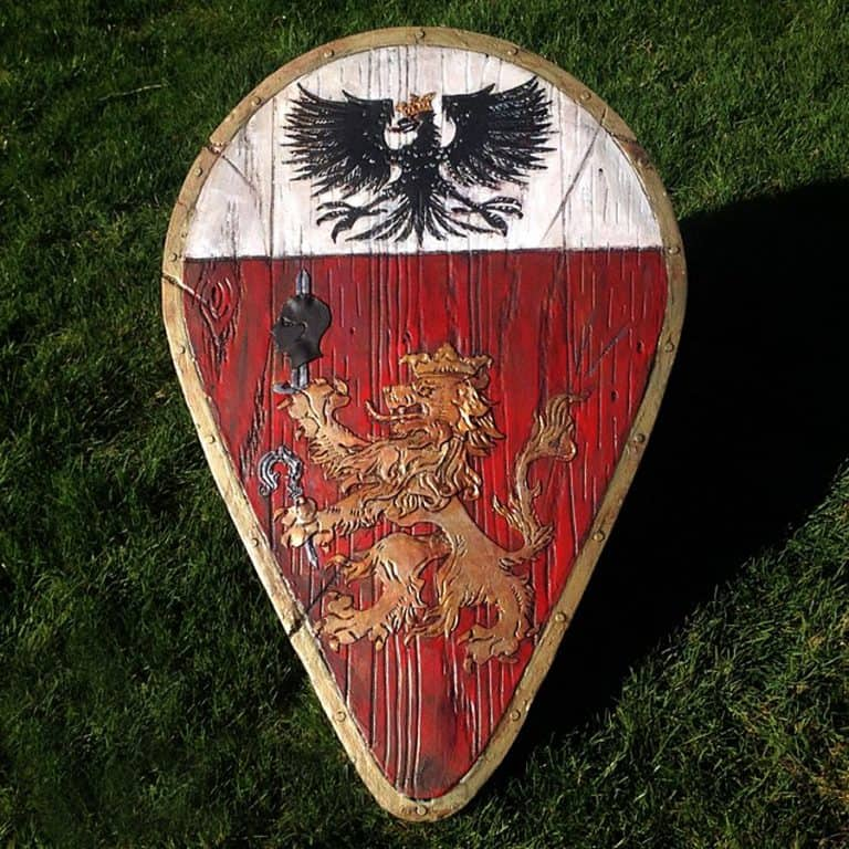 The Shield-Shop Plastidip and All-foam Shields Family Crest