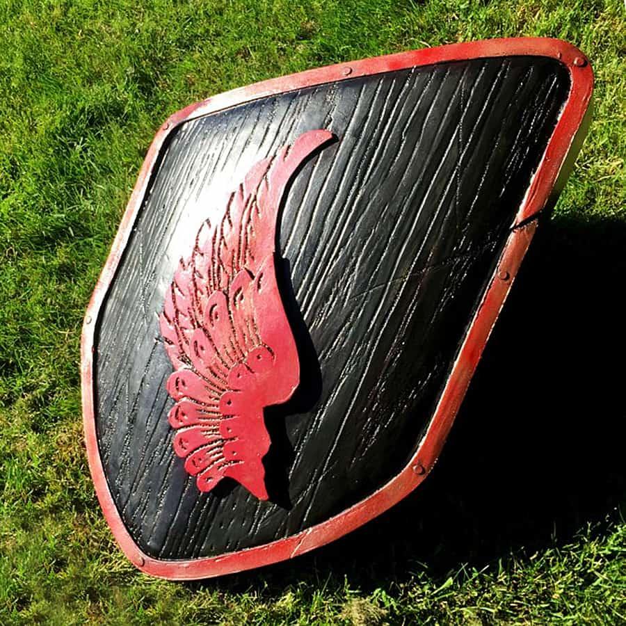 The Shield-Shop Plastidip and All-foam Shields Sculpture