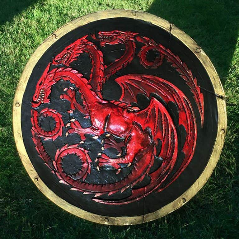 The Shield-Shop Plastidip and All-foam Shields Targaryen