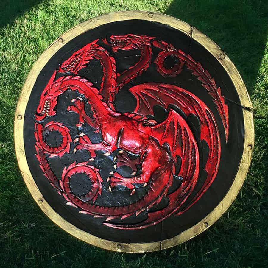 The Shield-Shop Plastidip and All-foam Shields Targaryen