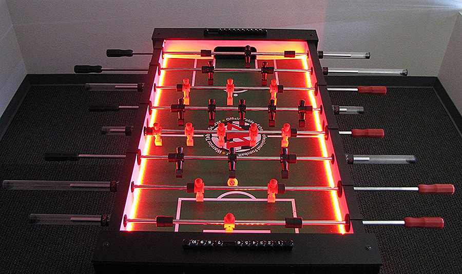 Warrior Table Soccer Professional Foosball Table Activity