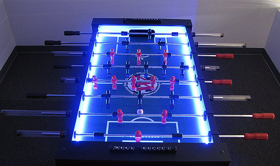 Warrior Table Soccer Professional Foosball Table