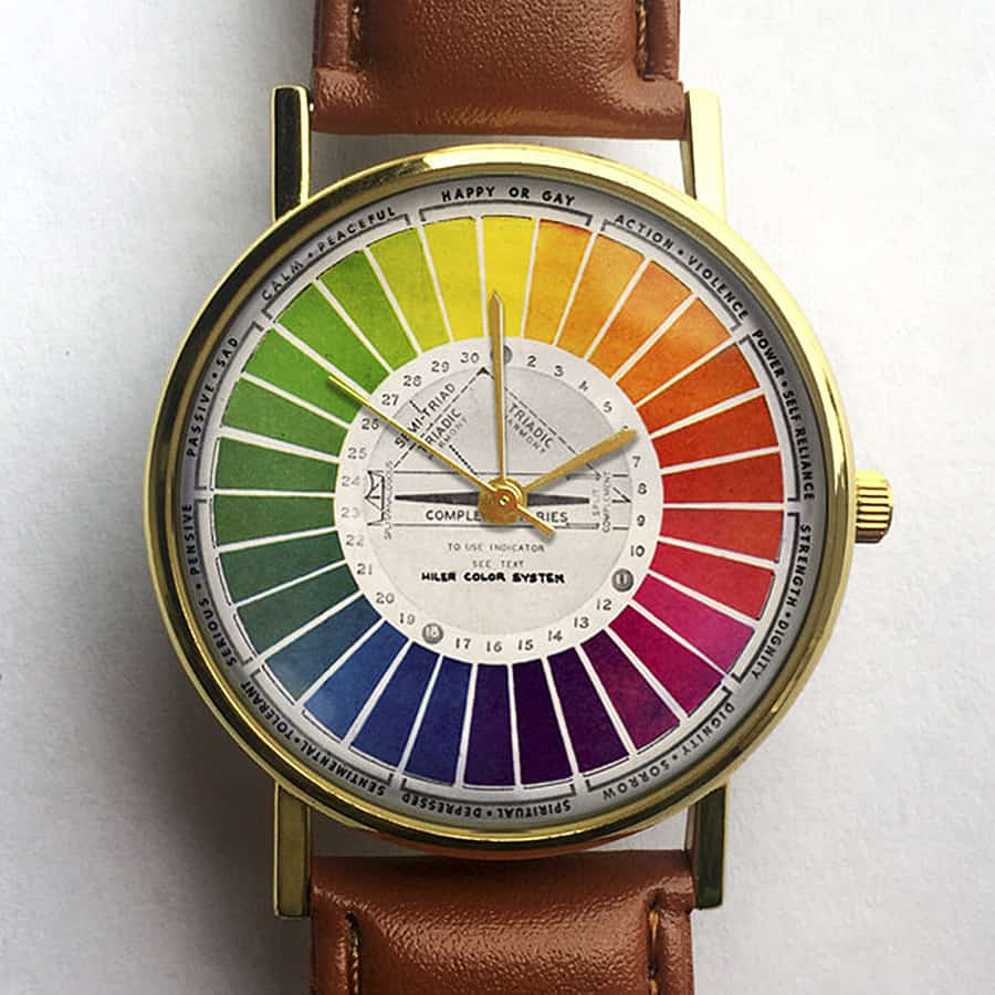 Tell time in color.