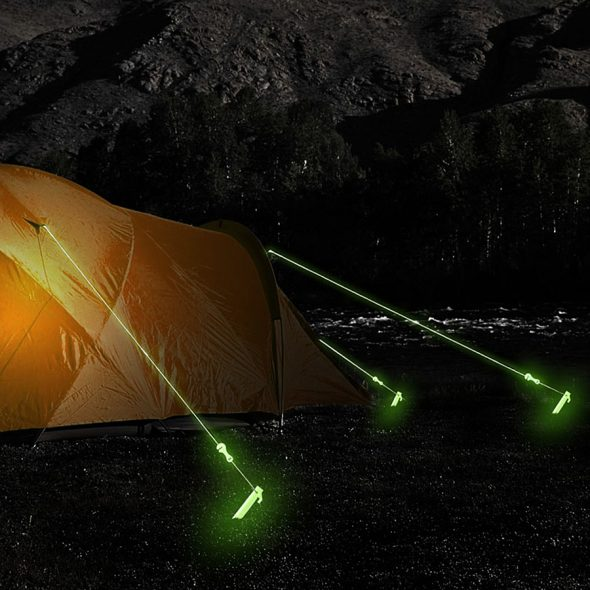 AceCamp 9063 3mm Glow in the Dark Rope Wear and Tear Resistant