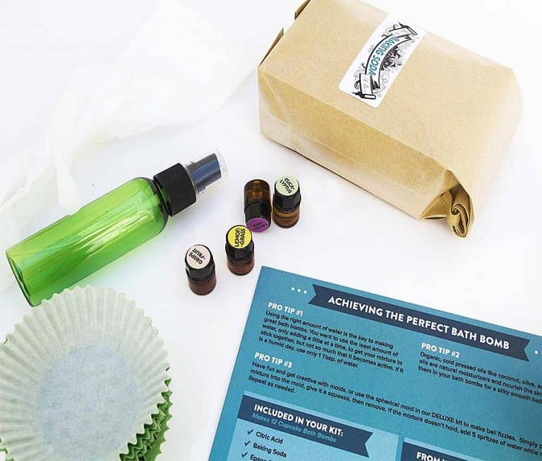Bath Bomb Kit Co. Bath Bomb Making Kit Aromatherapy