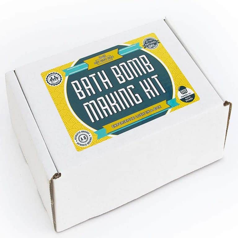Bath Bomb Kit Co. Bath Bomb Making Kit Packaging Box