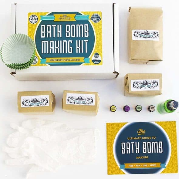 Create your own bath bombs.