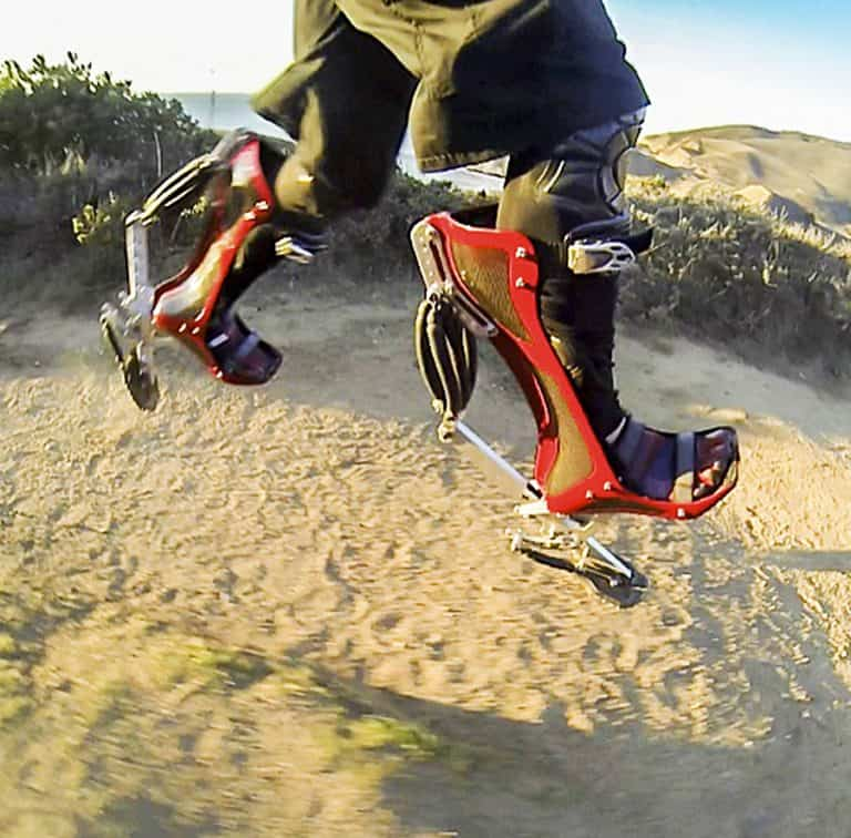 Bionic Boot Jumping