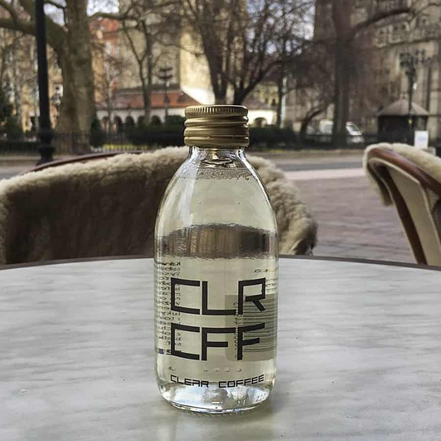 CLRCFF Clear Coffee Beverage