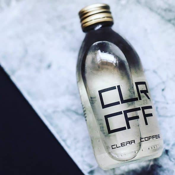 CLRCFF Clear Coffee Drink