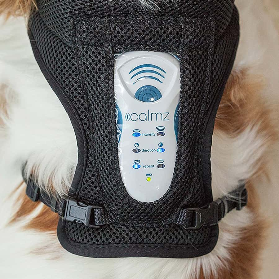Calmz Anxiety Relief System for Dogs Clinically Proven
