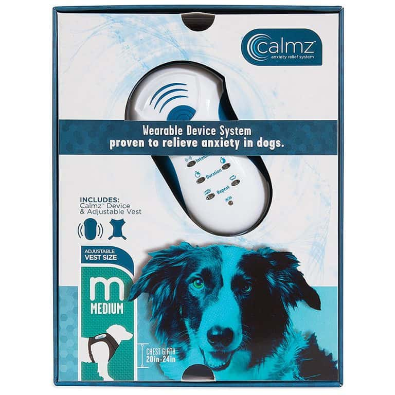 Calmz Anxiety Relief System for Dogs Wearable Device