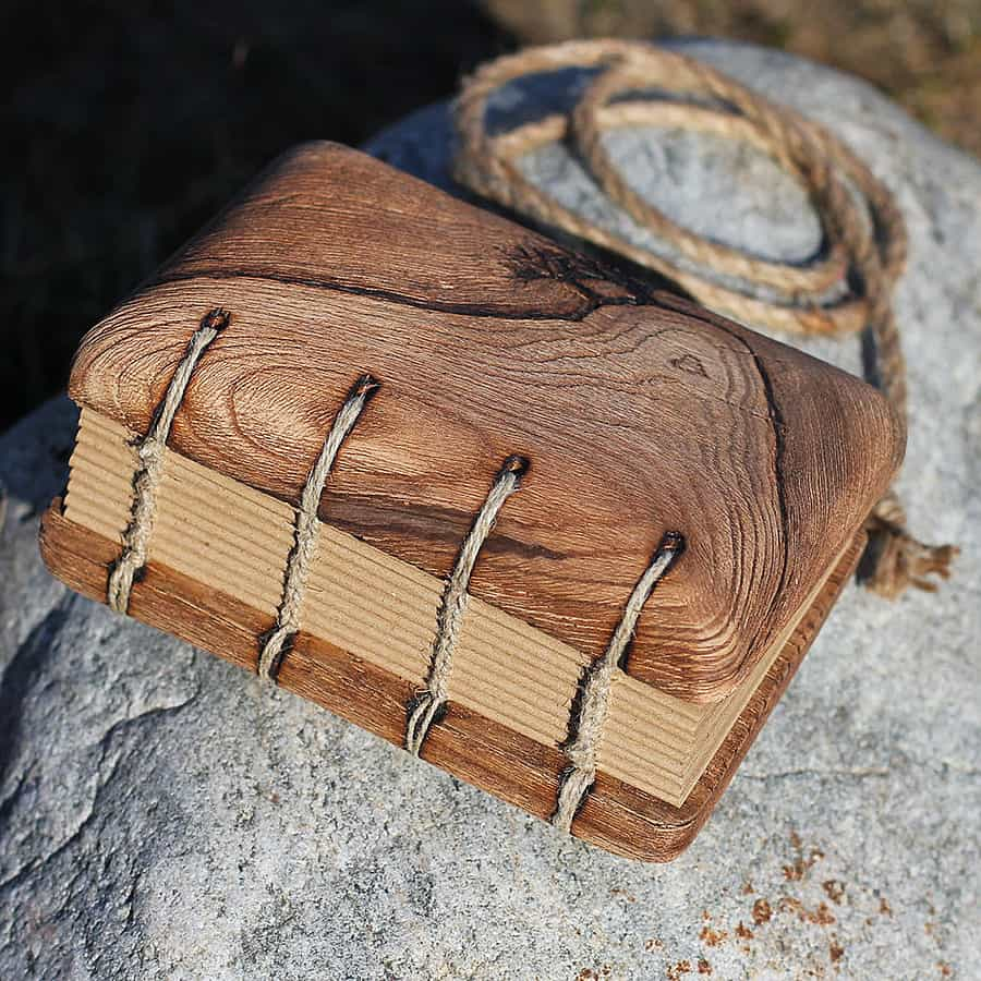 Crearting Rustic Wood Wedding Guest Book Novelty