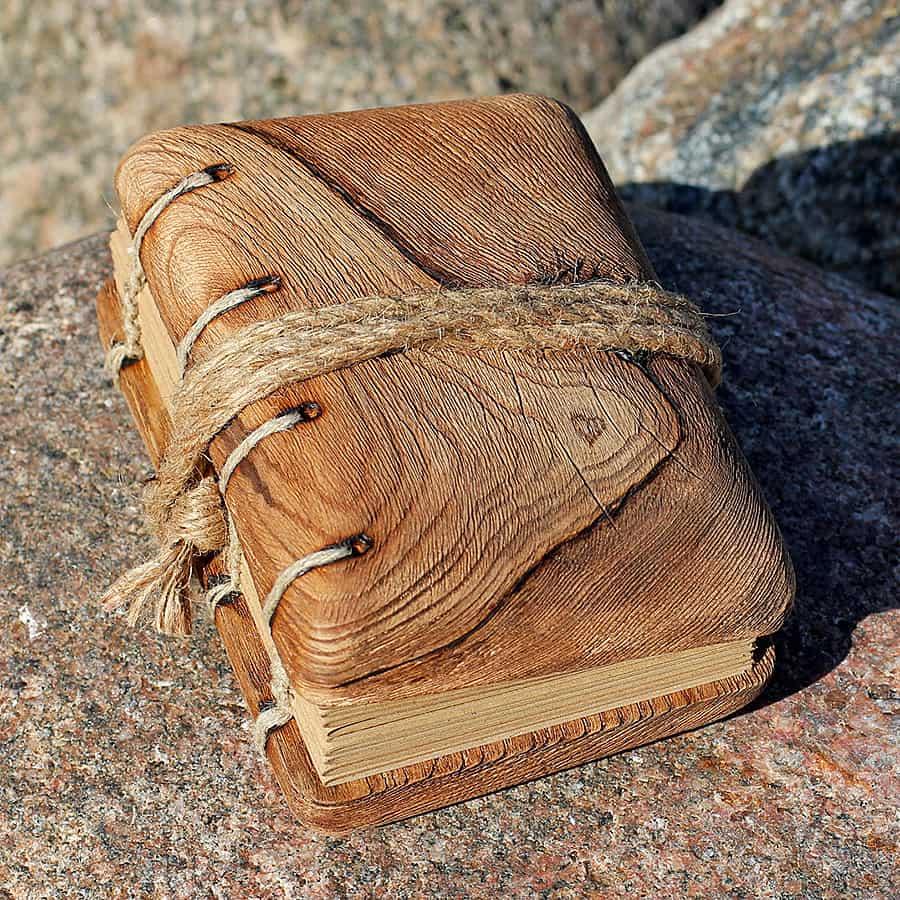 Crearting Rustic Wood Wedding Guest Book Wooden