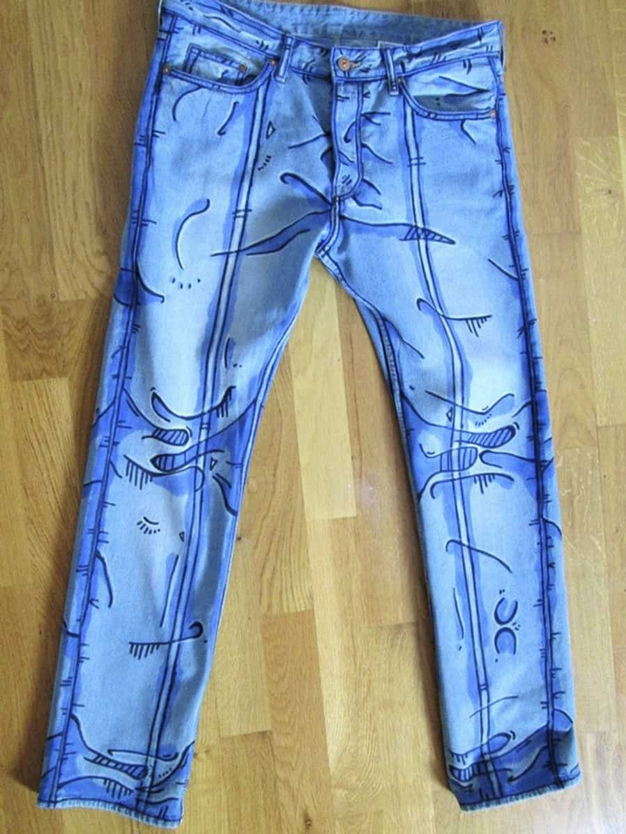 Déjà Neuf Heure Cel Shaded Pants Garment