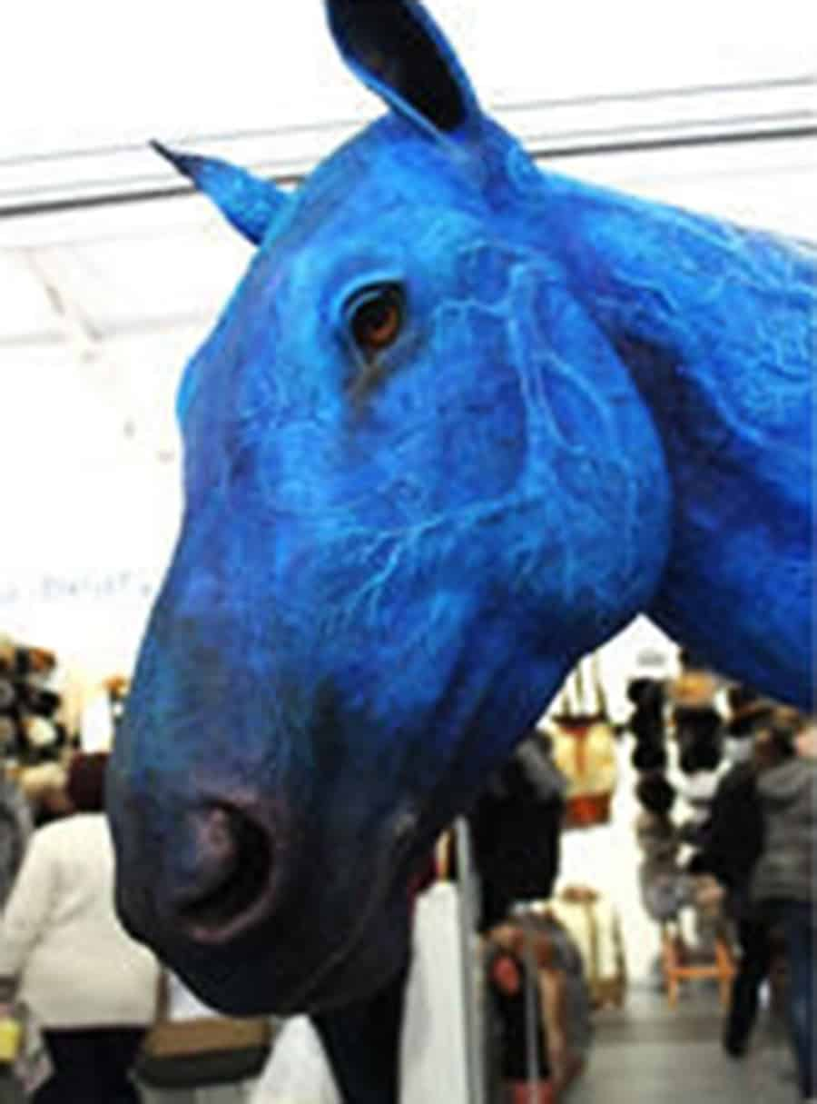 Demiurgus Dreams Fantasy Horse Faux Taxidermy Trophy Handmade Product