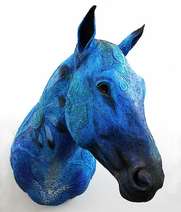 Demiurgus Dreams Fantasy Horse Faux Taxidermy Trophy Home Display
