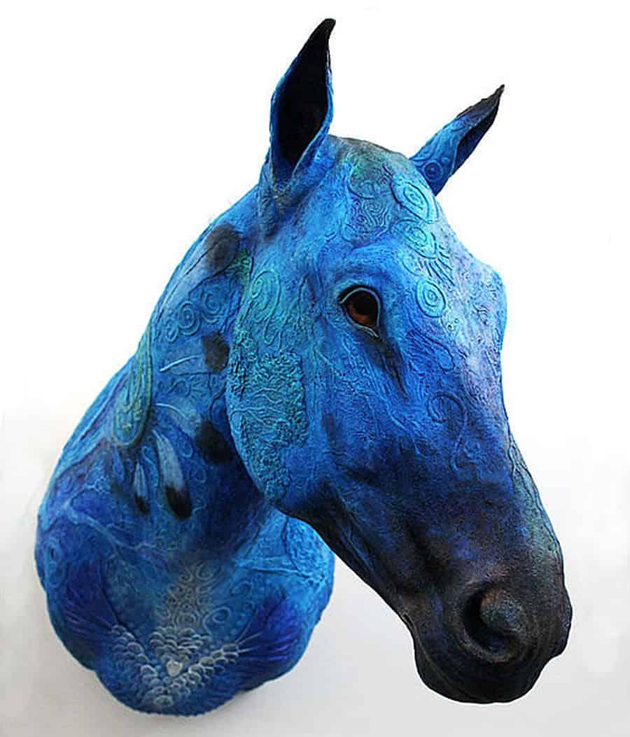 Demiurgus Dreams Fantasy Horse Faux Taxidermy Trophy Home Display