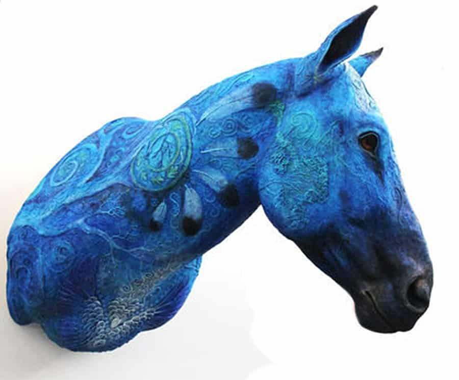 Demiurgus Dreams Fantasy Horse Faux Taxidermy Trophy Interior