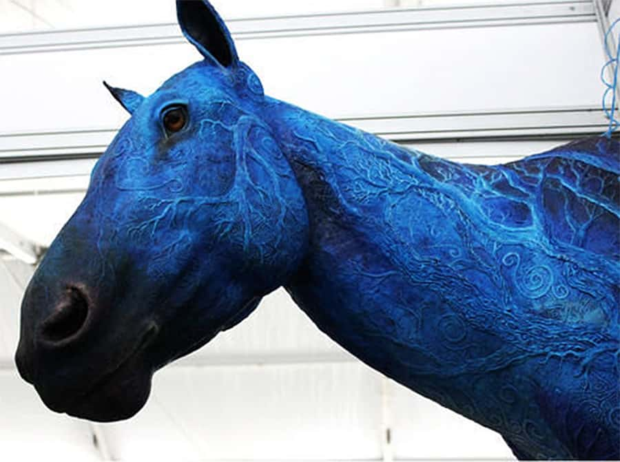 Demiurgus dreams fantasy horse faux taxidermy trophy noveltystreet display the symbolic strength of the horse around you and promote good fortune and success too it might not win you any races but you dont have to feed it voltagebd Gallery