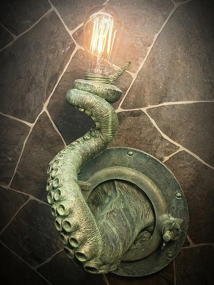 EpochCreations Tentacle Porthole Lamp Made from Resin