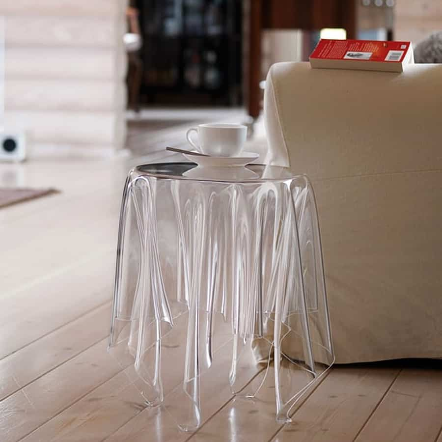 Essey Illusion Side Table Home Decorations