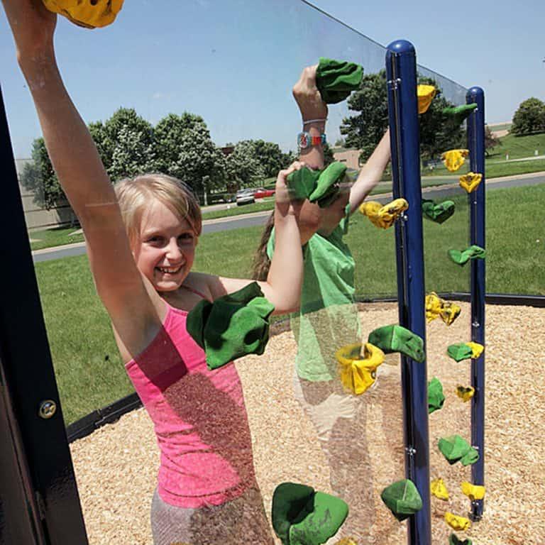 Everlast Climbing Clear Playground Wall Backyard
