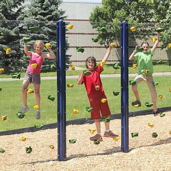 Everlast Climbing Clear Playground Wall Backyard Novelty Products