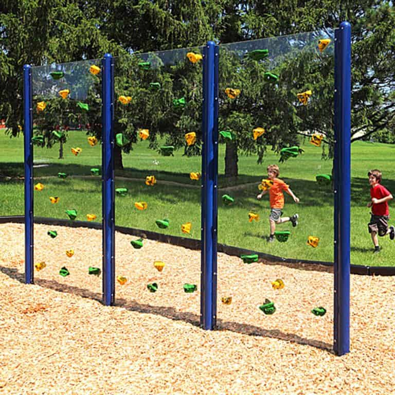 Everlast Climbing Clear Playground Wall Wall Climb