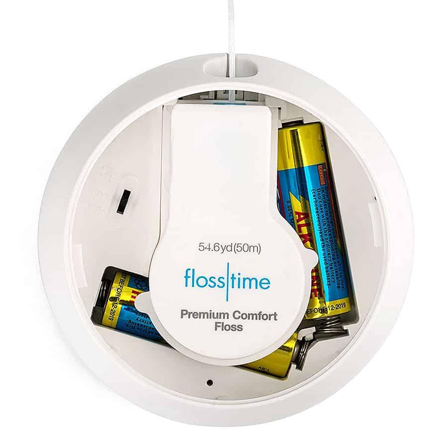 Flosstime Automated Floss Dispenser Replaceable floss cartridge
