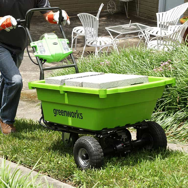 GreenWorks 40V Power Cart Heavy Duty Steel Frame
