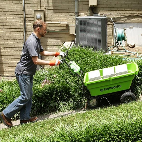 GreenWorks 40V Power Cart Self Propelled
