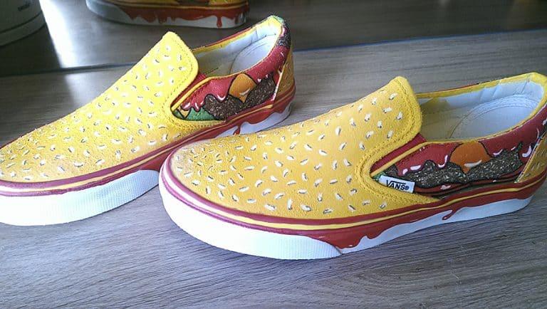 Juicebox Arts Cheeseburger Shoes Clothing