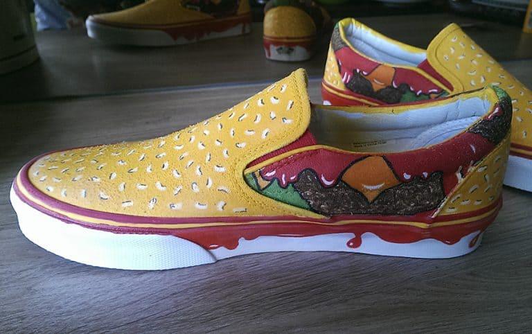 Juicebox Arts Cheeseburger Shoes Footwear