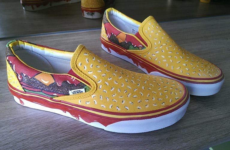 Juicebox Arts Cheeseburger Shoes Shoe
