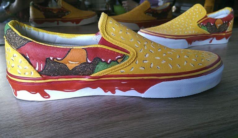 Juicebox Arts Cheeseburger Shoes footwears